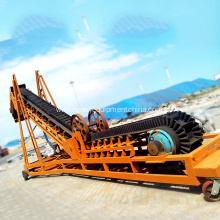 Large Inclination Corrugated Sidewall Belt Conveyor For Sand